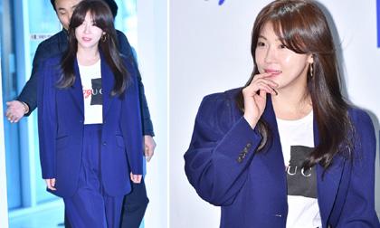 'Gái ế' thì đã sao, Ha Ji Won vẫn đẹp ngời ngời nhờ làn da căng bóng và phong cách thời trang cực chất ở tuổi 41