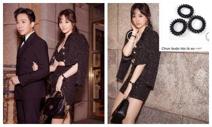 Diện toàn đồ Chanel sang chảnh, Hari Won bị chồng trách vì một phụ kiện 4000 đồng