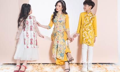 Mách nhỏ chị em sắm áo dài Tết ghé qua thời trang Orchid sale 30% - 60%