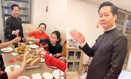 Vợ chồng Phan Như Thảo khoe không gian đón Tết và bữa cơm ấm cúng bên gia đình