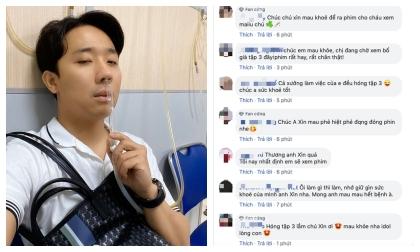 Trấn Thành bất ngờ chia sẻ khoảnh khắc kiệt sức, mệt mỏi khiến fan lo sốt vó