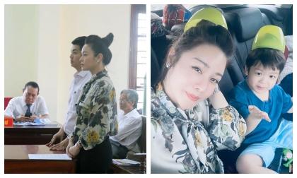 Giữa lúc kiện cáo giành quyền nuôi con với chồng cũ, Nhật Kim Anh vẫn vui vẻ đưa bé về quê ngoại