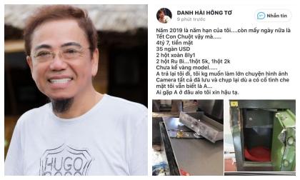 Sự thật chuyện danh hài Hồng Tơ bị người quen trộm gần 5 tỉ, 35 ngàn USD và kim cương