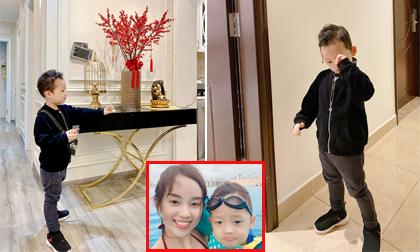 Chưa được 4 tuổi, con trai Ly Kute đã được nhận xét giống hot boy tương lai