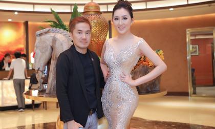 Bầu Hòa lịch lãm bất ngờ hội ngộ Hoa hậu Huỳnh Thúy Anh tại sự kiện Đẹp Hoàn Hảo