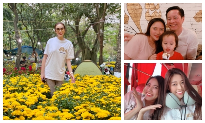 Kỳ Duyên, Phan Như Thảo... cùng dàn sao Việt làm gì ngày 25 tháng chạp?