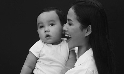 Phạm Hương gây 'sốc' với số cân hiện tại sau sinh con và tiết lộ sự thay đổi trong cuộc sống