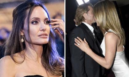 Phản ứng đáng chú ý của Angelina Jolie trước việc Brad Pitt tình bể bình với Jennifer Aniston tại lễ trao giải