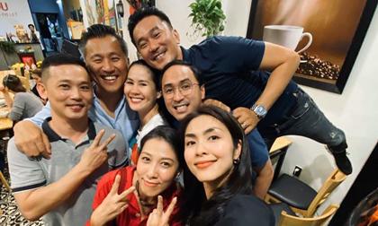 Vợ chồng Tăng Thanh Hà hội ngộ cùng bạn bè vào 28 Tết