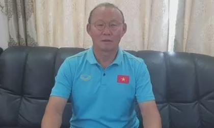 HLV Park Hang-seo chúc Tết người hâm mộ Việt Nam