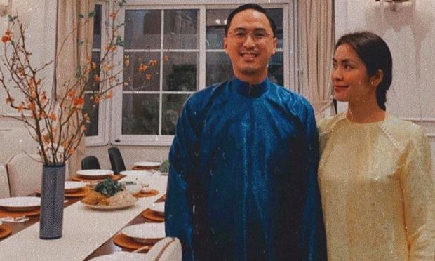 Hà Tăng cùng chồng và hội bạn thân diện áo dài nền nã trong biệt thự sang chảnh