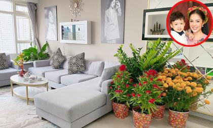 Dương Cẩm Lynh khoe căn hộ mới vào dịp Tết sau một thời gian đi thuê nhà sau ly hôn