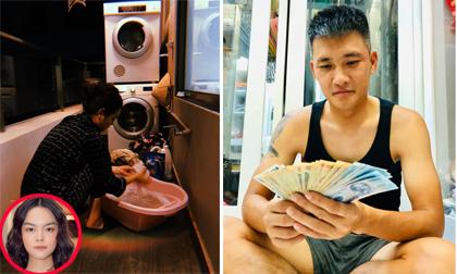 Sao Việt 24/1/2020: Phạm Quỳnh Anh đầu bù tóc rối giặt đồ; Công Vinh 'trách móc' Thủy Tiên khi vợ phát lương xài Tết
