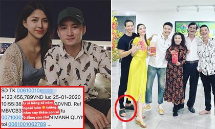 Sao Việt 26/1/2020: Phan Mạnh Quỳnh lì xì bạn gái 123 triệu đồng; Kim Lý bị 'soi' chi tiết thú vị khi chụp ảnh cùng gia đình Hà Hồ