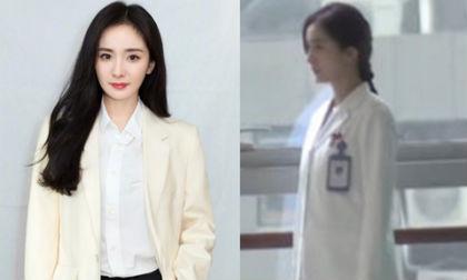 Phim về đề tài bác sĩ của Dương Mịch phải ngừng quay vì dịch bệnh do virus corona gây ra