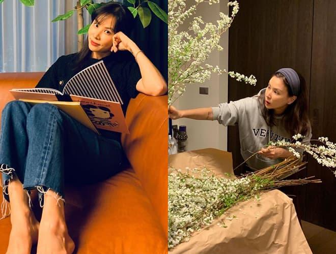 Dính bê bối 'gái gọi' là thế nhưng Jang Dong Gun vẫn chăm vợ khéo thế này, U50 rồi mà sắc vóc vẫn trẻ đẹp kinh ngạc 4