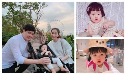 Mới 2 tuổi, con gái Hoa hậu Đặng Thu Thảo sở hữu vẻ ngoài xinh xắn, fan dự đoán Hoa hậu tương lai là đây