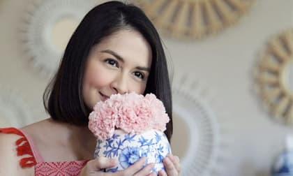 Nghi vấn mỹ nhân đẹp nhất Philippines có thai lần 3, vòng hai nhô cao thấy rõ