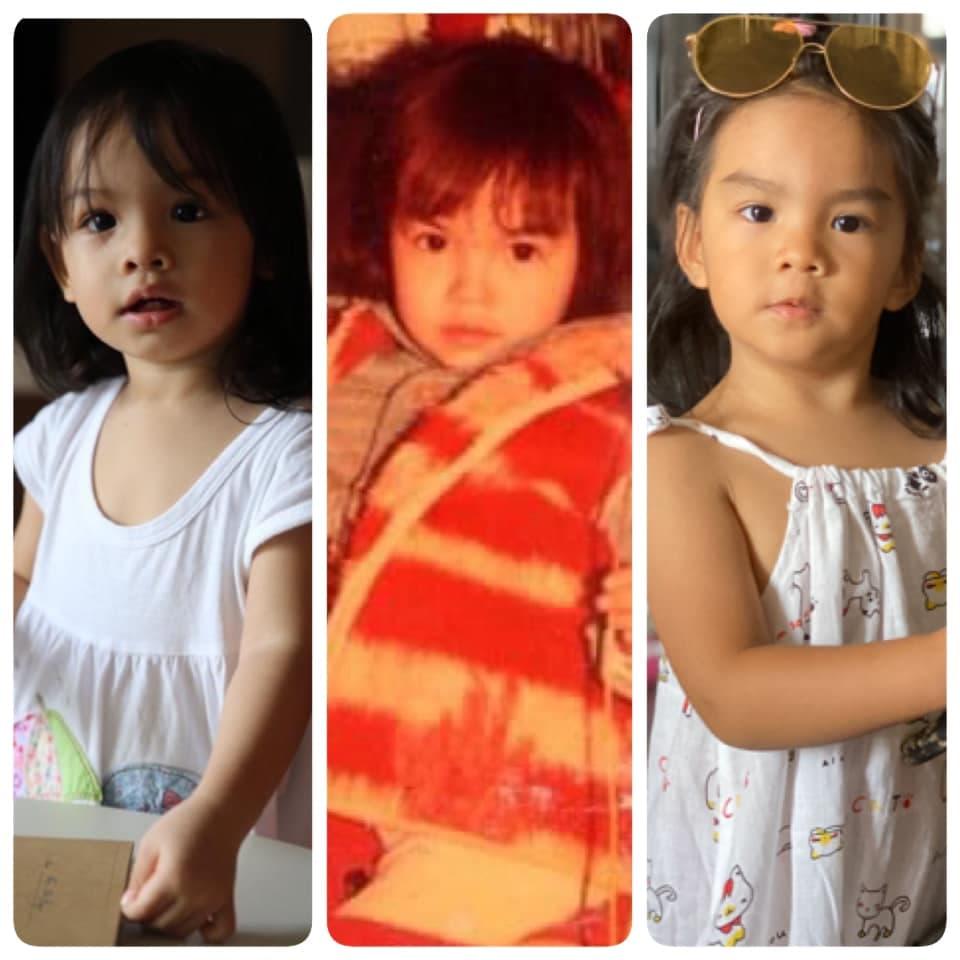 Phạm Quỳnh Anh đăng ảnh ngày bé giống hệt con gái thứ 2 hiện tại 3