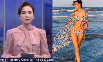 Sao Việt 18/5/2020: MC Mai Ngọc mắc lỗi trên sóng truyền hình; Á hậu Hoàng Thùy bị nghi bóp eo đến dị dạng