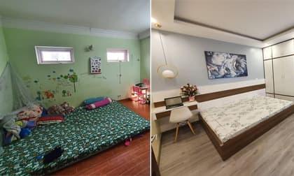 Thanh niên phá dỡ phòng 'ổ chuột' thành không gian mới: Nhìn qua như hai thế giới khác biệt