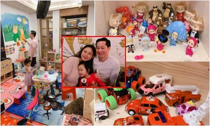 Căn phòng như showroom đồ chơi của con gái được đại gia Đức An bỏ cả tháng hoàn thiện