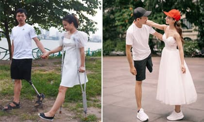 Cặp đôi 'chú lính chì' Ngọc Bảo - Lệ Thu chuẩn bị đón thêm thành viên mới sau đám cưới cổ tích