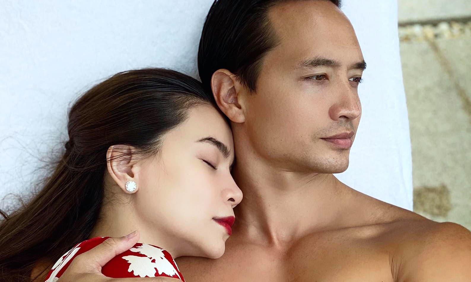 HOT: Hà Hồ - Kim Lý cùng đeo nhẫn ngón áp út, nữ ca sĩ đang mang song thai