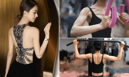Triệu Lệ Dĩnh leo lên top Weibo khi khoe cơ bắp cuồn cuộn khiến đấng mày râu cũng phải choáng