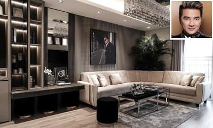 Hé lộ căn hộ mới siêu sang trọng của Đàm Vĩnh Hưng