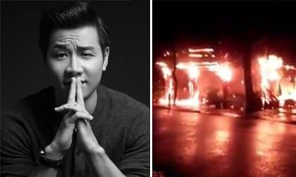 Chia sẻ đầu tiên của MC Nguyên Khang sau khi nhà hàng tại Phú Quốc cháy rụi trong 'biển lửa'