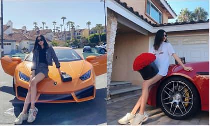'Rich kid' sinh năm 2003 mới nổi của hội con nhà giàu Việt: Chiều cao 'hoa hậu', đi xe gần 20 tỷ