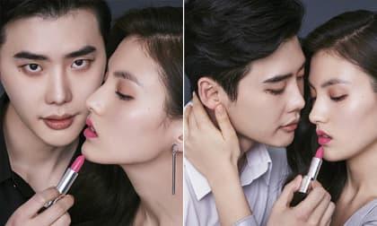 Bộ ảnh tạp chí Lee Jong Suk cực tình bên nữ phụ của 'Quân Vương Bất Diệt' bất ngờ gây bão trở lại trên MXH