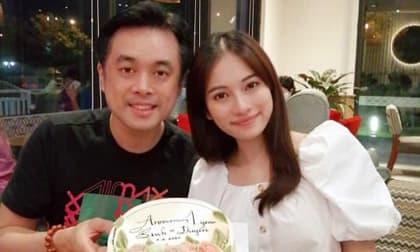 Dương Khắc Linh kỉ niệm 1 năm ngày cưới bên vợ bầu song thai