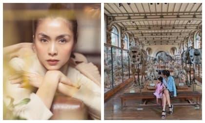 Con gái Tăng Thanh Hà có sở thích 'không giống ai' khi ở cùng mẹ và anh trai