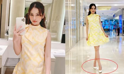Vợ nhạc sĩ Dương Khắc Linh bị nhắc nhở vì đi giày cao gót khi mang bầu song thai
