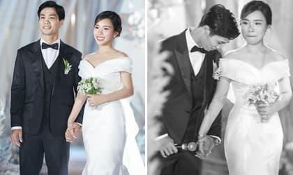 Khoảnh khắc xúc động nhất trong hôn lễ kín đáo của Công Phượng đốn tim fan