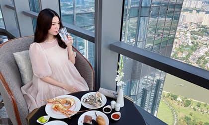 Diện đầm rộng thùng thình lại kèm status ẩn ý, fan nghi vấn Thuý Vân mang thai?