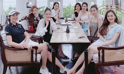 Hội bạn thân toàn Hoa hậu Hà thành hội ngộ, 'đọ' nhan sắc một chín một mười