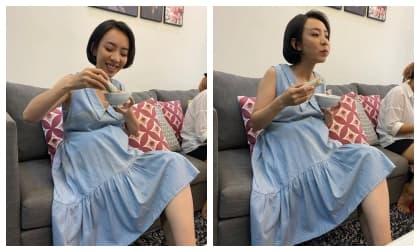 Thu Trang tự khoe ảnh lộ bụng to rõ cùng lời khẳng định: 'Andy có em'