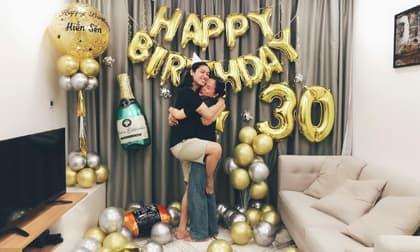 Lý Phương Châu tổ chức sinh nhật cho bạn trai - vũ công Hiền Sến