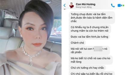 Việt Hương bức xúc vì 'thứ fan gì mà không có giáo dục'