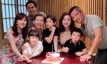 Hoa hậu Jennifer Phạm mừng sinh nhật, mẹ chồng cũng xuất hiện gây chú ý