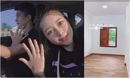 Bà xã Phan Văn Đức háo hức khoe hình ảnh đầu tiên về căn nhà mới