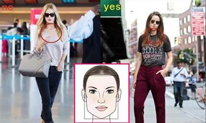 3 cô gái có hình dạng khuôn mặt: hình chữ nhật, tròn và kim cương, không nên bỏ qua kiến thức này khi chọn kiểu cổ áo phù hợp