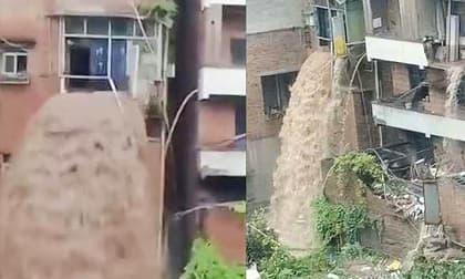 Lời kể của chủ căn nhà bị mưa lũ tràn từ tầng 3: Cả nhà hốt hoảng khi lũ ập vào, mặc áo ngủ bỏ chạy không dám trở về