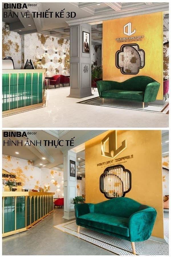 Binba Decor, thiết kế nội thất, thi công nội thất
