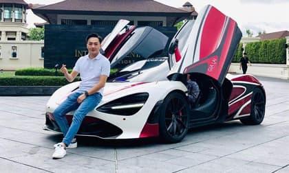 Đàm Thu Trang mang bầu sắp đẻ, Cường Đô La dừng hành trình siêu xe sau 10 năm