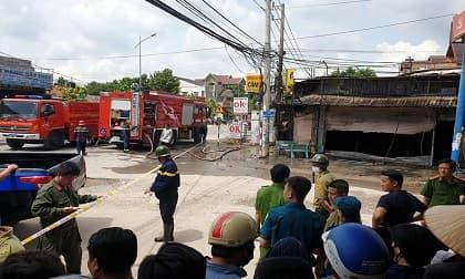 Cháy lớn tại tiệm cầm đồ ở Bình Dương, 3 người tử vong thương tâm