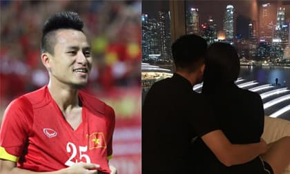 Tiền vệ Huy Toàn chào đón con trai đầu lòng với bạn gái bí mật